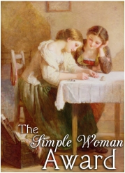 The Simple Woman Award