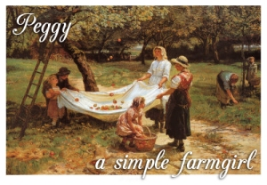 Peggy, A Simple Farm Girl