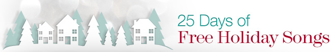 Amazon's 25 Days of Free Christmas Music 2013